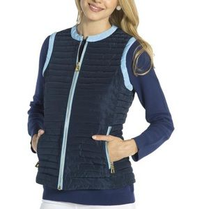 Sail to Sable Vest XL Navy Blue NWT
